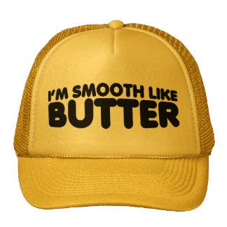Je suis lisse comme le beurre casquette trucker