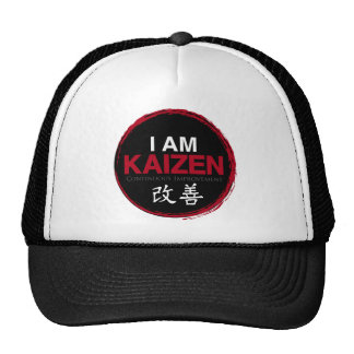 Je suis logo de Kaizen - amélioration continue Casquette De Camionneur