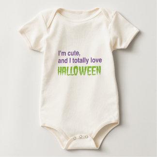 Je suis mignon et j'aime totalement Halloween Body