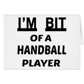 Je suis mordu d'un joueur de handball