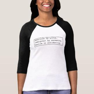 Je suis #MuslimInSolidarity. T-shirt
