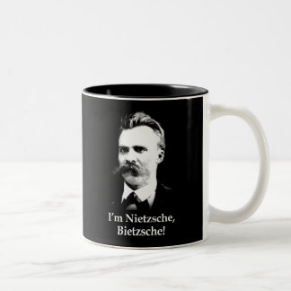 Je suis Nietzsche, Bietzsche ! Tasse 2 Couleurs