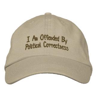 Je suis offensé par l exactitude politique chapeaux brodés