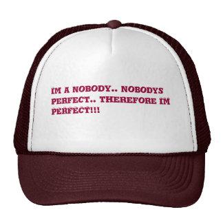 je suis parfait casquette