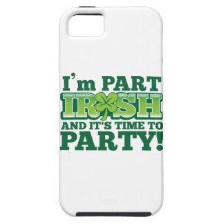 Je suis PARTIE IRLANDAISE et il est temps DE PARTY Étuis iPhone 5