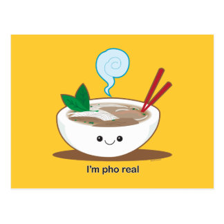 Je suis Pho vrai Carte Postale