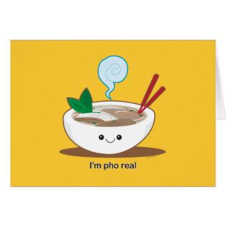 Je suis Pho vrai Cartes