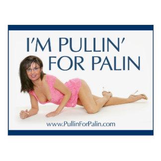 Je suis Pullin pour la carte postale de Palin