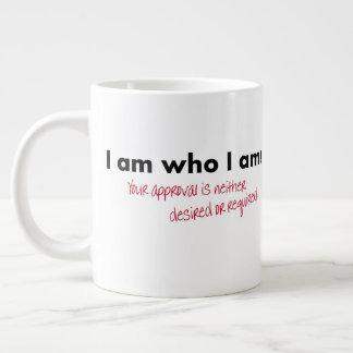 Je suis qui je suis grande tasse