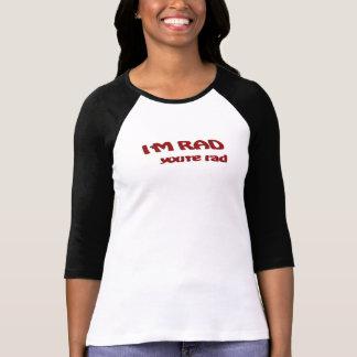 Je suis rad Ragland T-shirt