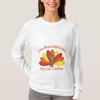 Je suis reconnaissant pour ma chemise de Lil T-shirt