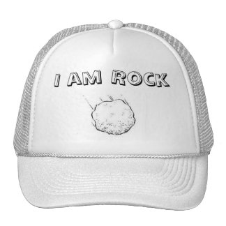 Je suis roche casquette trucker