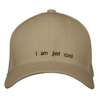 Je suis simplement frais casquette brodée