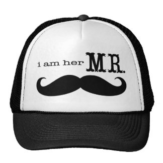 Je suis son M. Mustache Grooms Gifts Casquette Trucker