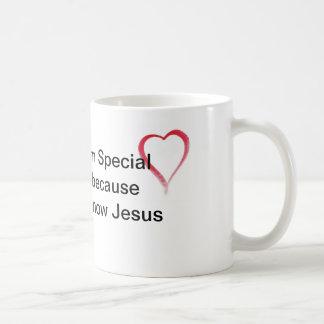 Je suis spécial mug blanc