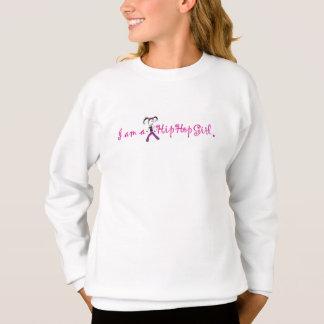 """""""Je suis sweatshirt de Crewneck de fille d'un HIP"""