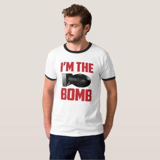 Je suis T-shirt drôle d'énonciation de bombe le