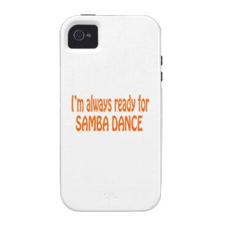 Je suis toujours prêt pour la danse de samba coque iPhone 4