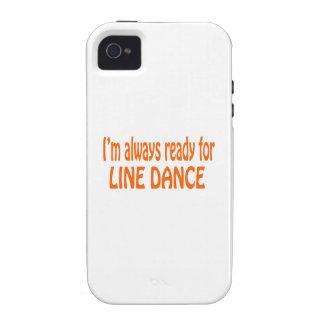 Je suis toujours prêt pour la ligne danse étui iPhone 4