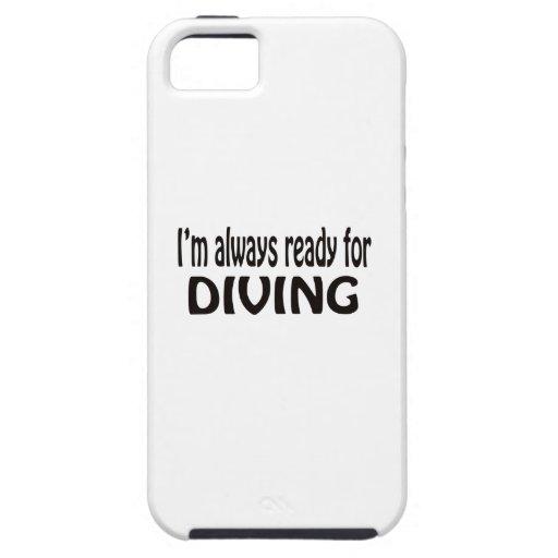 Je suis toujours prêt pour la plongée coque iPhone 5