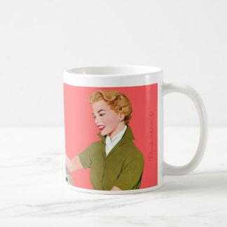 Je suis trop joli pour un compartiment mug blanc