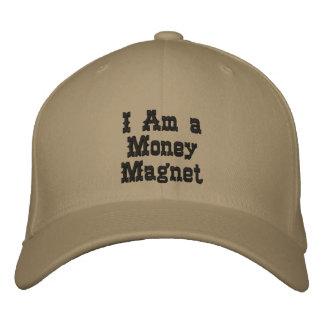 Je suis un aimant d'argent chapeaux brodés
