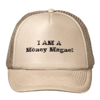 Je suis un aimant d'argent casquettes de camionneur
