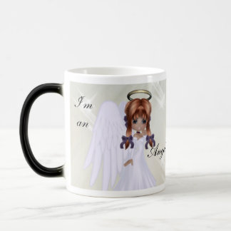 Je suis un ange…. Le plus souvent tasse de café