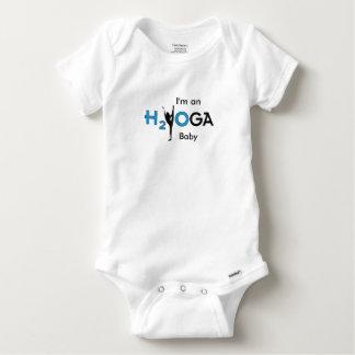 """""""Je suis un bébé de H2yOga !"""" Combinaison Body"""