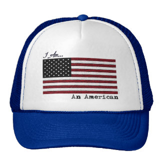 JE SUIS un casquette américain de camionneur