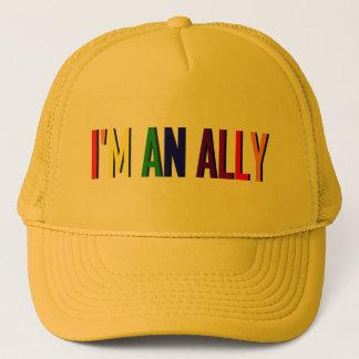 Je suis un casquette de jaune d'allié