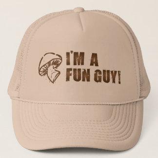 Je suis un casquette de type d'amusement