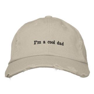 Je suis un casquette frais de papa casquette brodée