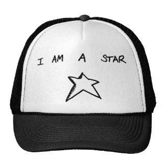 JE SUIS un chapeau de camionneur d'ÉTOILE Casquettes