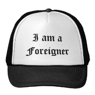 Je suis un chapeau d'Étranger Casquettes De Camionneur