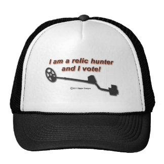 Je suis un chasseur de relique et je vote casquettes de camionneur
