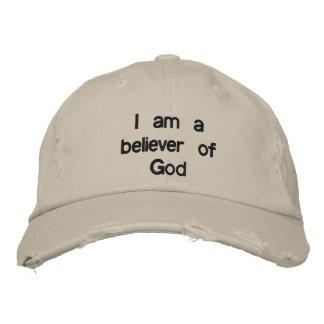 Je suis un croyant de Dieu Casquette Brodée