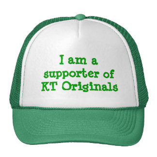 Je suis un défenseur de chapeau d'originaux de KT Casquette De Camionneur