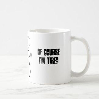 Je suis un étudiant en médecine. Naturellement je Mug Blanc