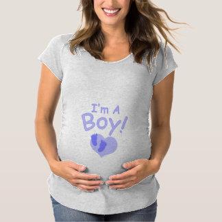 Je suis un garçon T-Shirt de maternité