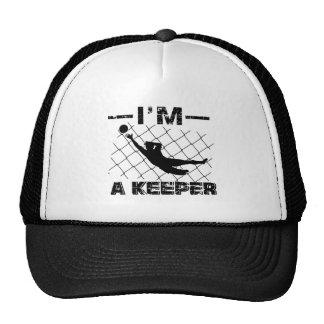 Je suis un gardien - conceptions de gardien de but casquette trucker