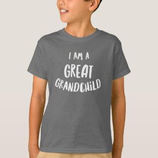 Je suis un grand petit-enfant t-shirt