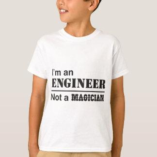 Je suis un ingénieur, pas un magicien t-shirt