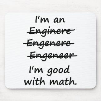 Je suis un ingénieur que je suis bon aux maths tapis de souris