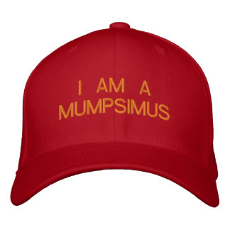 JE SUIS un MUMPSIMUS - casquette de baseball