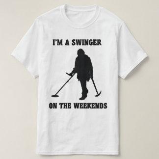 Je suis un partouzeur sur le T-shirt de week-ends
