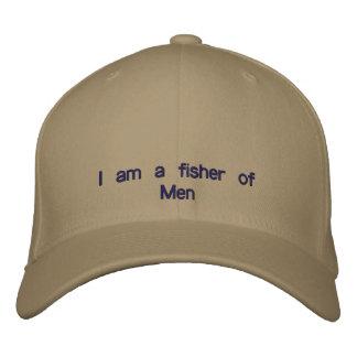 Je suis un pêcheur des hommes casquette de baseball brodée