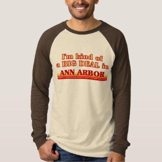 Je suis un peu une AFFAIRE à Ann Arbor T-shirt