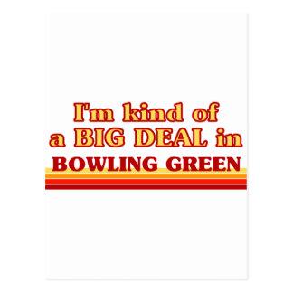 Je suis un peu une AFFAIRE à Bowling Green Carte Postale