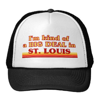 Je suis un peu une AFFAIRE à St Louis Casquette
